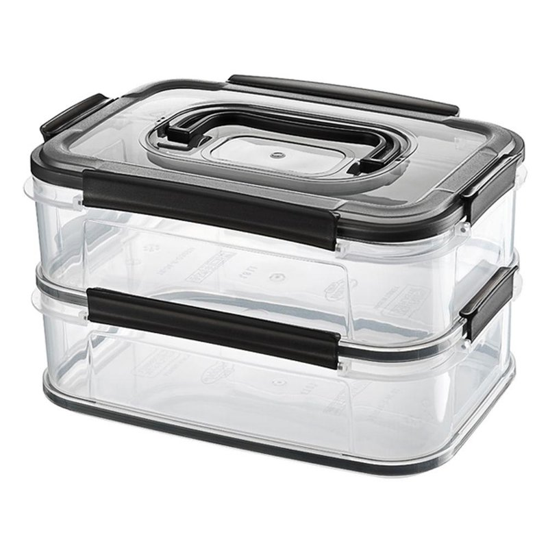 ORION 2-level container for food for cooked meats cheese 2x1,8L