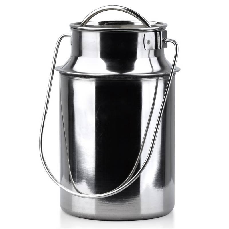 ORION Churn for milk steel retro 3,2 L