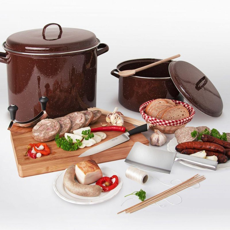 ORION Enamel pot gastronomic big 36cm 15L