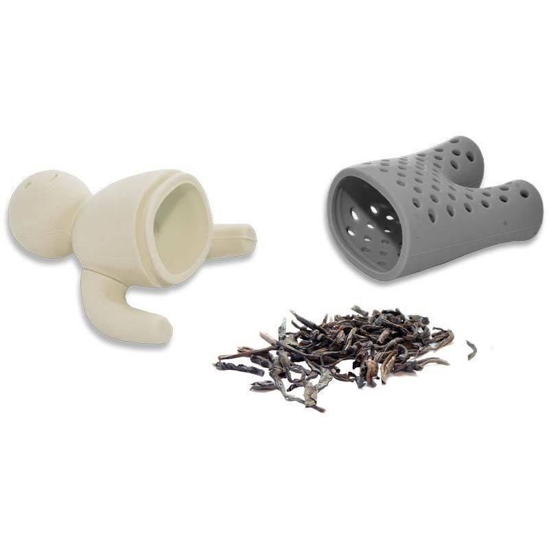 ORION Infuser / SIEVE for TEA herbs on mug STICK FIGURE