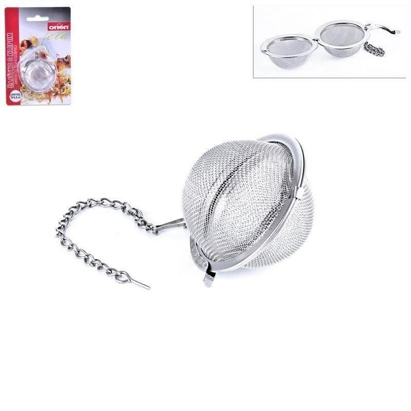 ORION Infuser / sieve for tea, herbs 4,5 cm