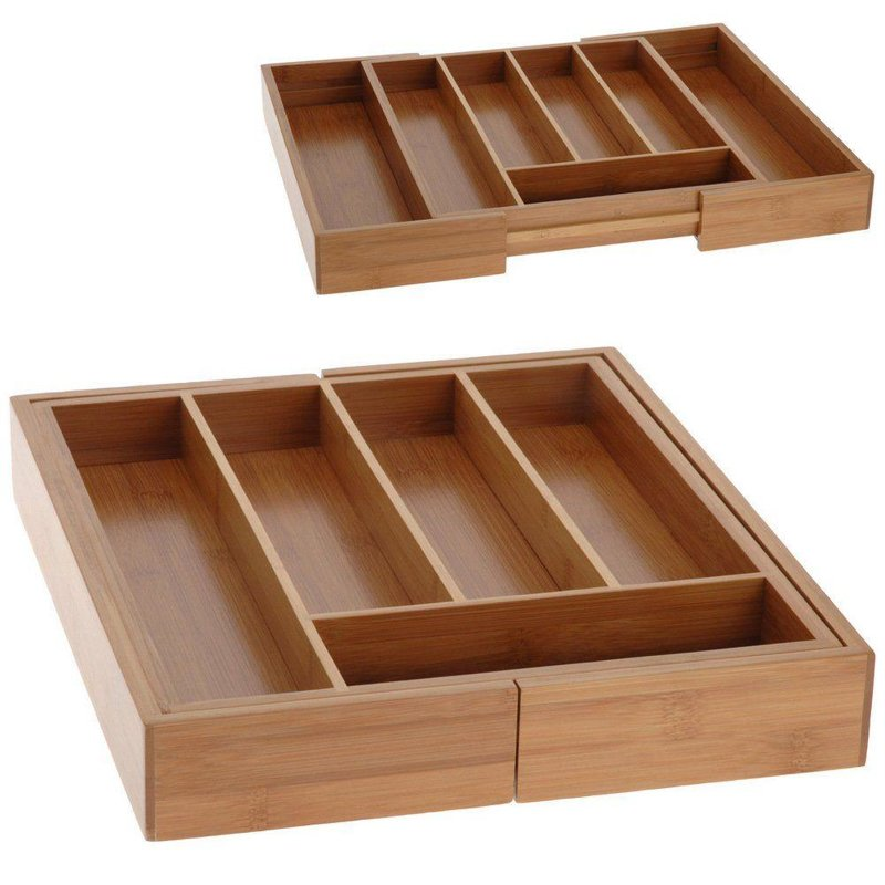 ORION Insert / organizer for drawer for cutlery EXTENDABLE