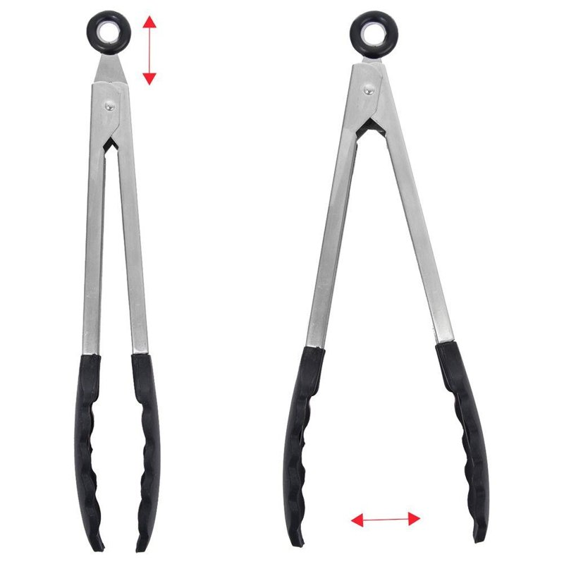 ORION KITCHEN tongs for turning serving grill 27 cm