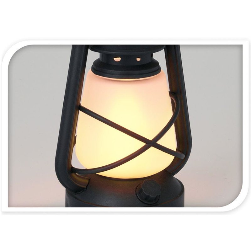 ORION Lamp LANTERN with movable flame LED