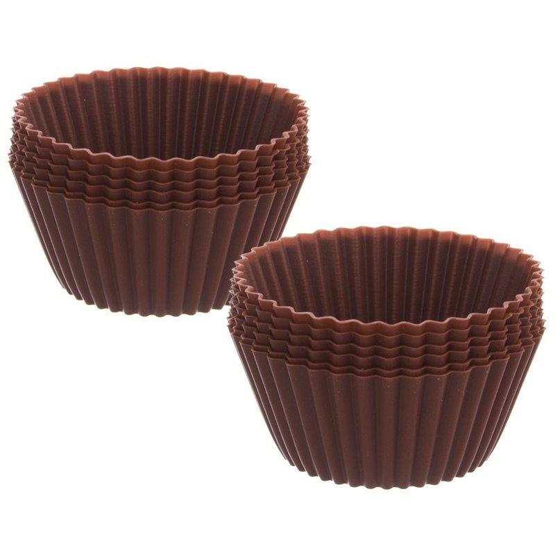 ORION Silicone mold for muffins for MUFFINS 12 pcs.
