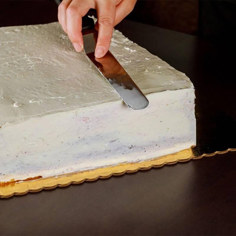 ORION Spatula for cream, mass / knife for cake, torte