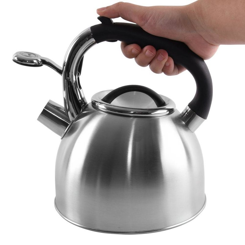 ORION Steel kettle with a whistle AUTOMAT gas induction 2,7L