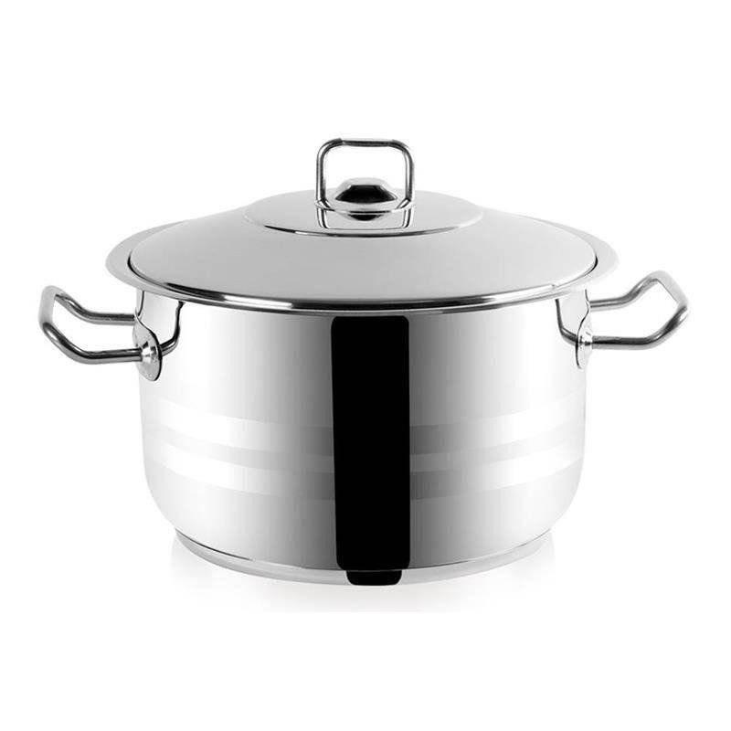 ORION Steel pot gastronomic with lid GASTRO 13,7L