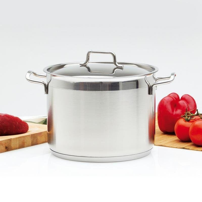 ORION Steel pot with lid 18/10 PREMIUM 4,6L