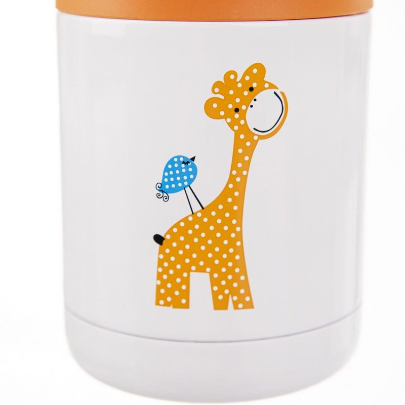 ORION Thermal dinner bowl GIRAFFE for kids kid 0,48L