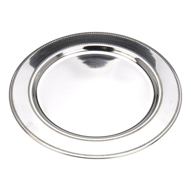 ORION Tray cake stand PLATE for serving steel 33 cm