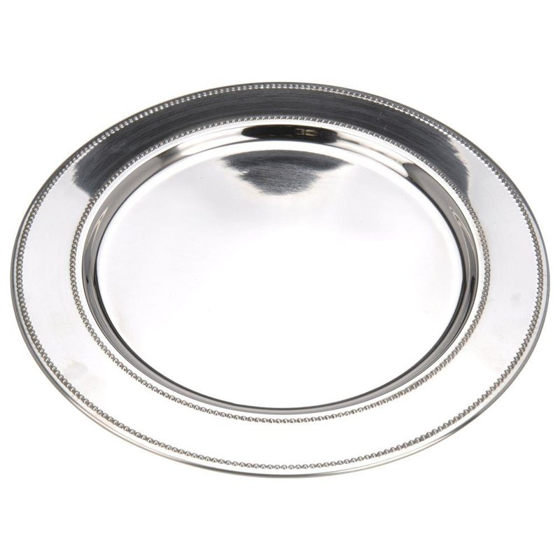 ORION Tray cake stand PLATE for serving steel 39 cm