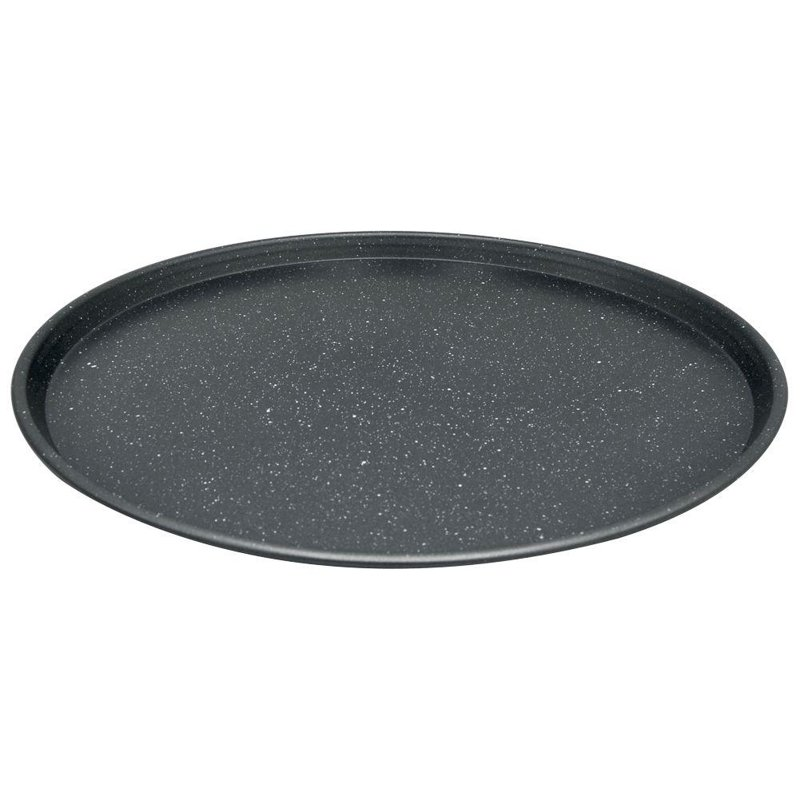 ORION Tray mold for pizza GRANITE for pizza big XL 35,5 cm