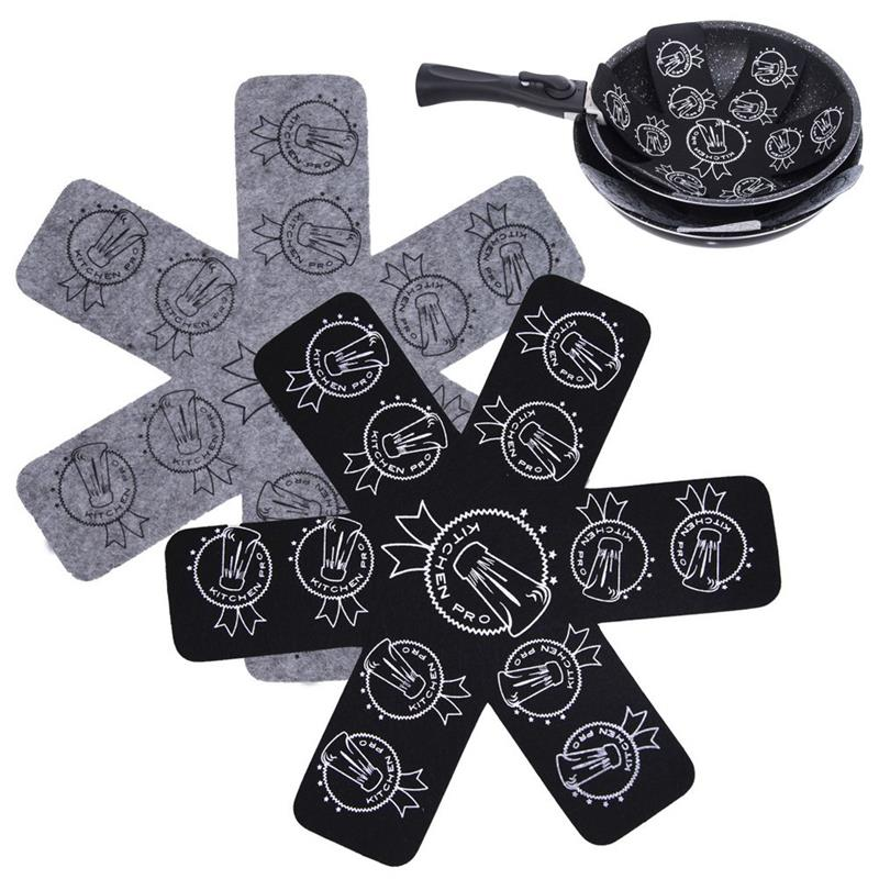 Stapelschutz für Pfannen Töpfe Pfannenschutz Topfschutz 2 Stück 32 cm