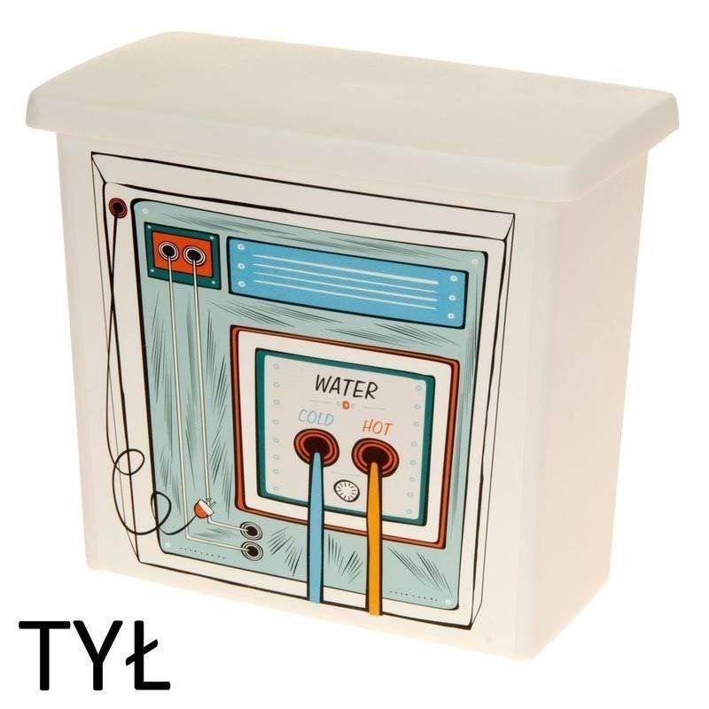 Aufbewahrungsbox Waschmittelbox für Waschkapseln Waschpulver Spülmaschinentabs