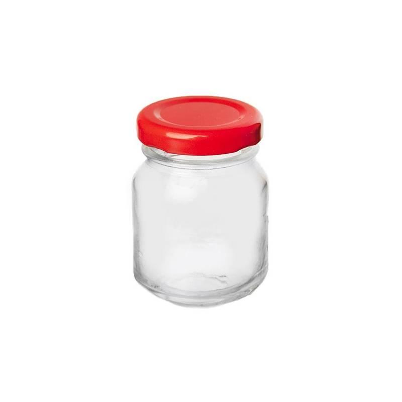 ORION Einmachglas mit Schraubverschluss für Tomatenpüree Gewürze 80 ml