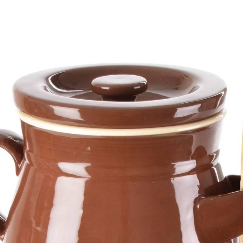 ORION Gurkentopf / Behälter zum Einlegen von Gurken / Einlegetopf 2,5l