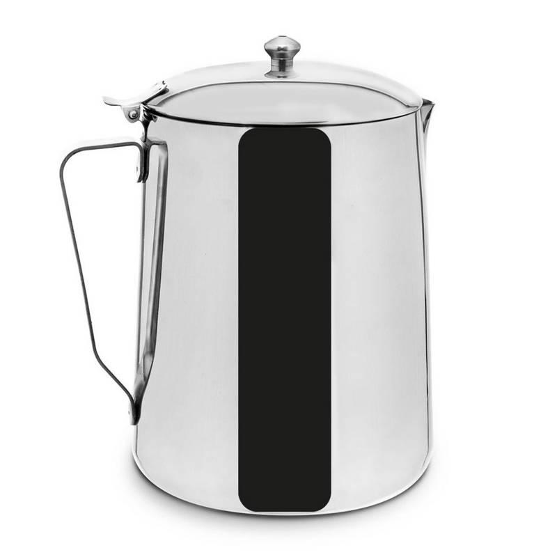 ORION Milchkännchen aus Stahl mit Deckel 0,7l Milchkanne