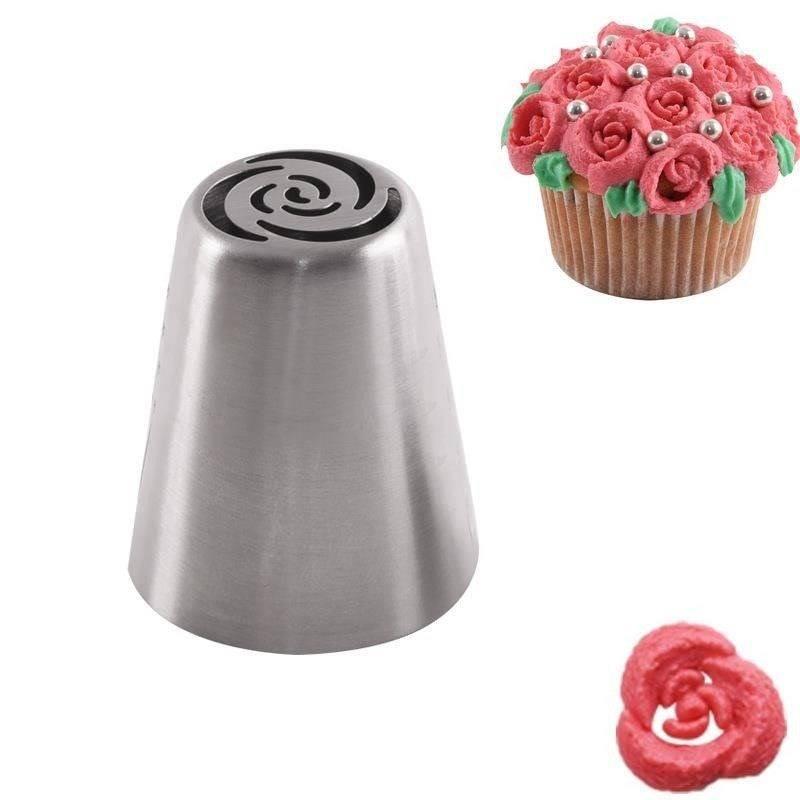 Russische Spritztülle Spitze für Spritzbeutel - ROSE.