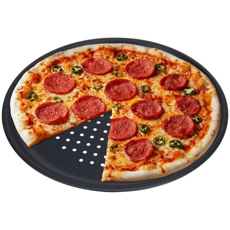 Blacha / forma do pizzy / na pizzę perforowana