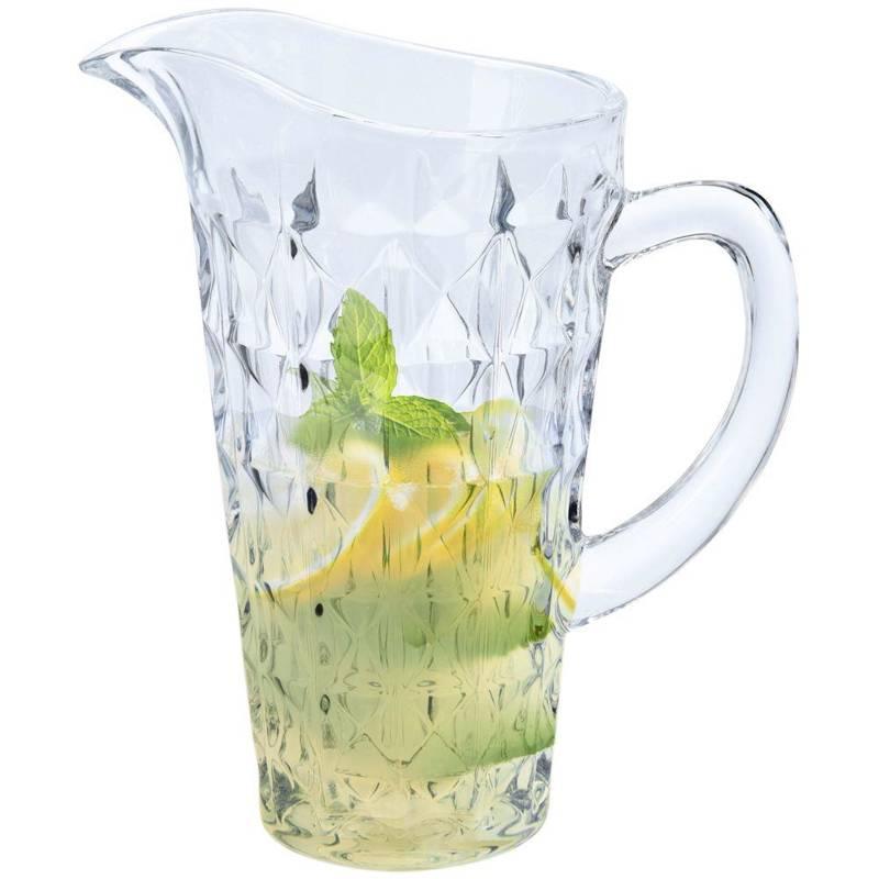 Dzbanek 1L + szklanki 6x szklanka 300 ml ZESTAW