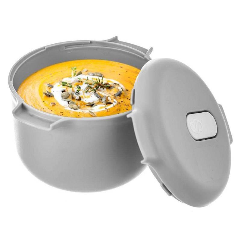 Garnek pojemnik do gotowania zupy w mikrofalówce