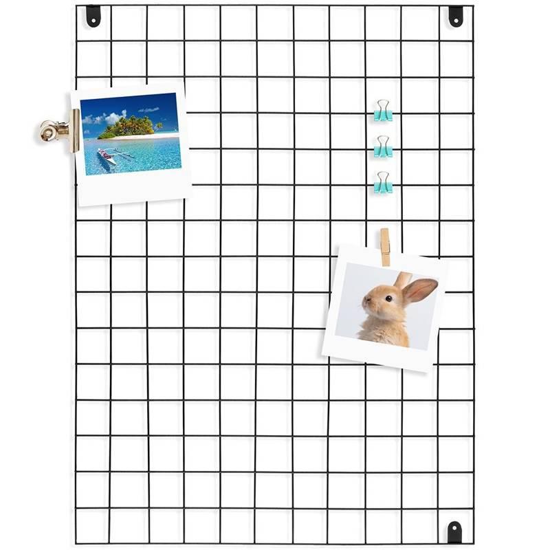 Kratka metalowa na zdjęcia, notatki, zapiski, ramka do zdjęć, dekoracji, 75x55 cm