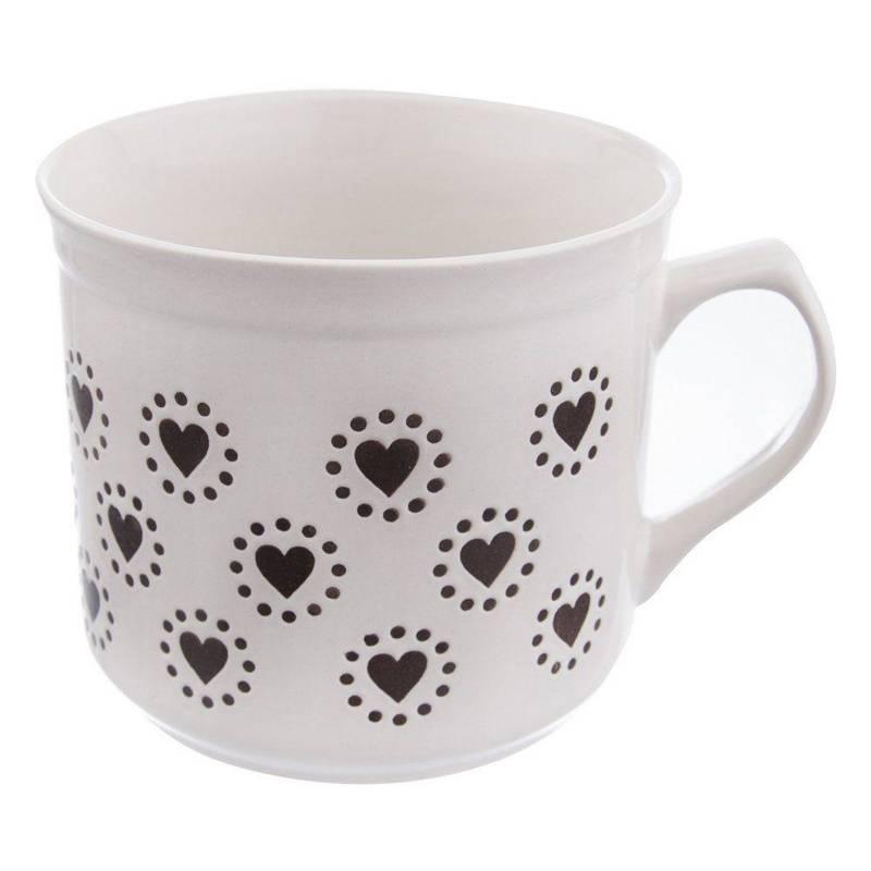 Kubek ceramiczny do podgrzewania 0,68L garnek