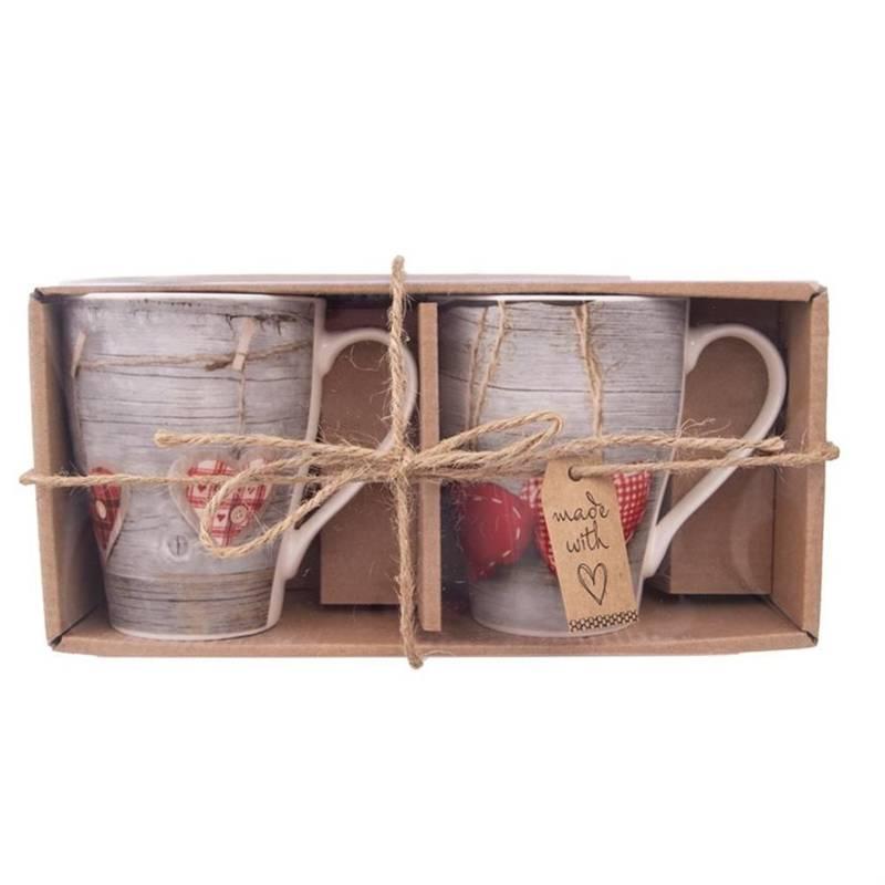 Kubek porcelanowy / zestaw kubków 0,38L NA PREZENT