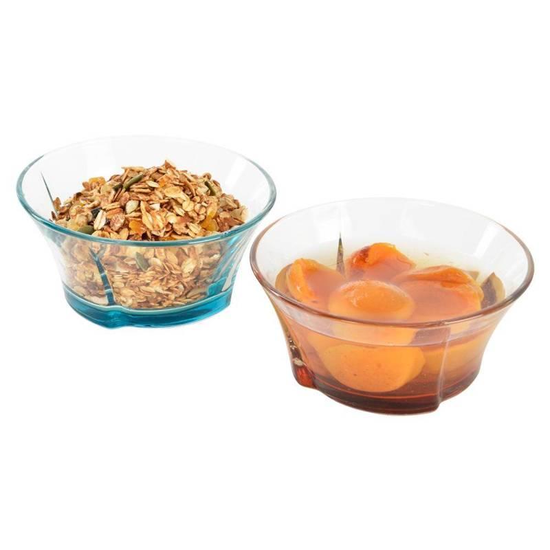 Miska miseczka salaterka szklana 12cm 310ml 6 sztuk