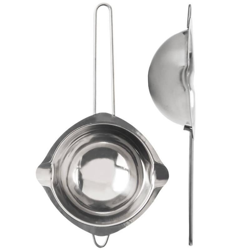 Miska stalowa do kąpieli wodnej czekolady 14 cm