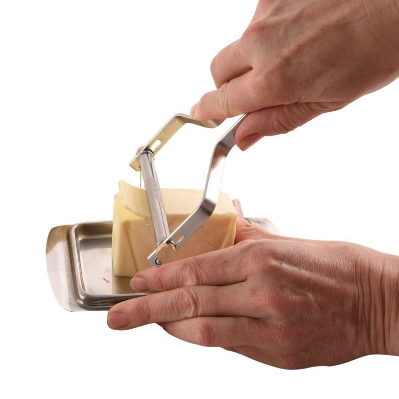 Nóż / skrobak do sera regulowany plastry