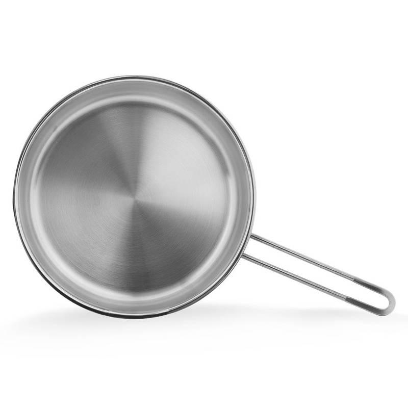 Patelnia stalowa 18/10 nierdzewna PREMIUM indukcja gaz 26 cm