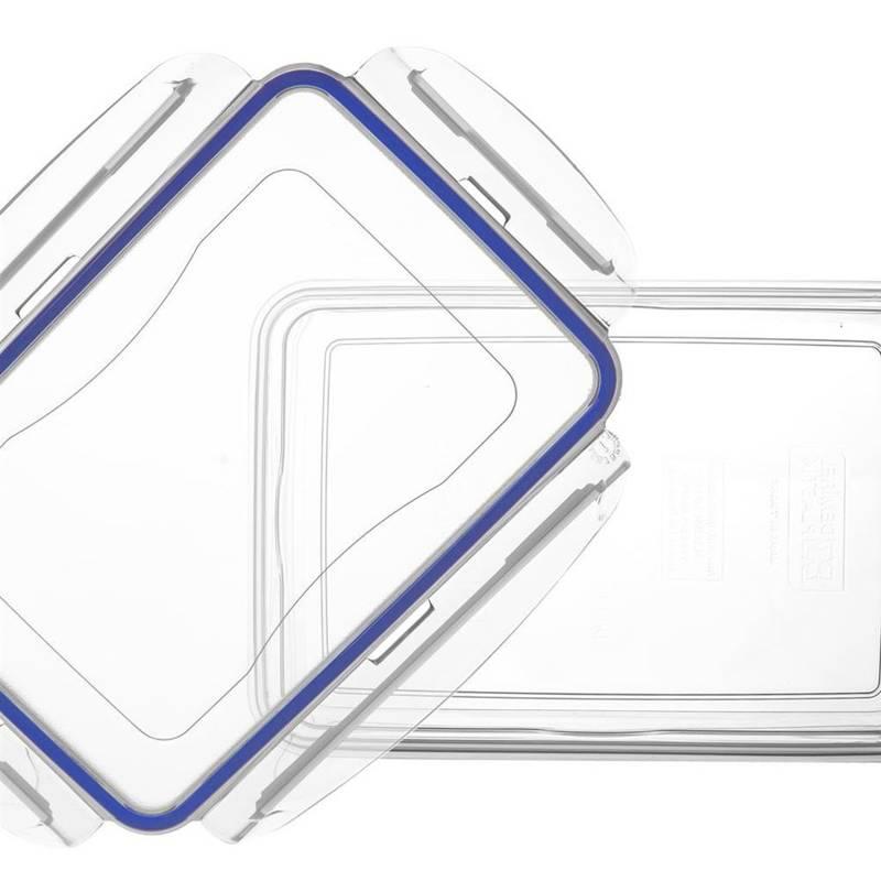 Pojemnik do żywności z uszczelką 0,8L prostokątny