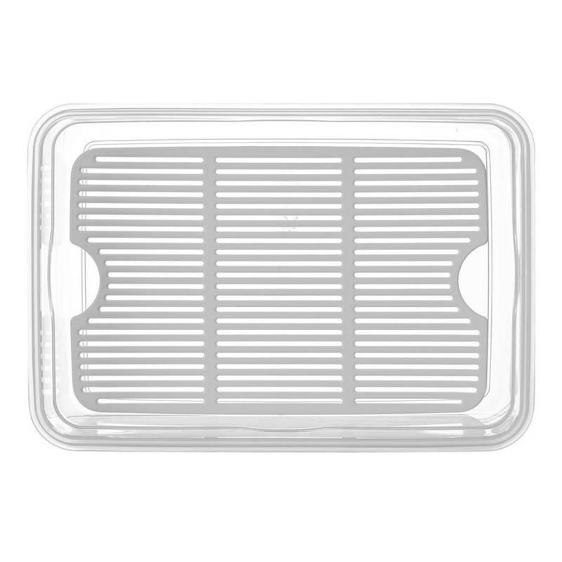 Pojemnik do żywności z uszczelką 4,5L prostokątny