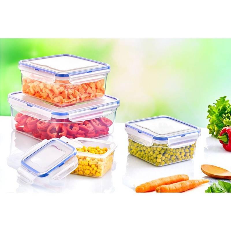 Pojemnik kuchenny do żywności z uszczelką 1,3L szczelny