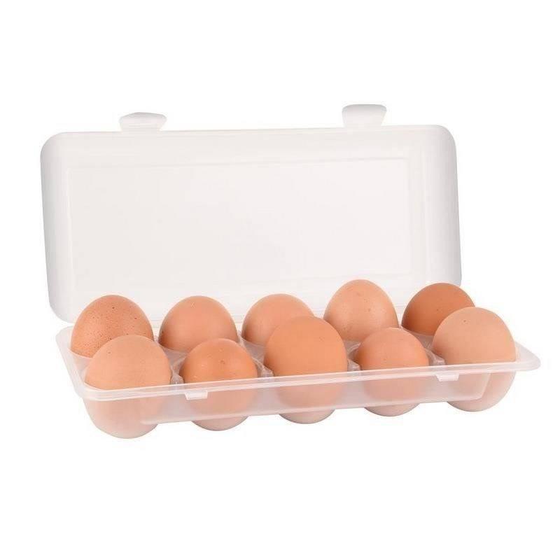 Pojemnik / organizer na jajka 10 szt plastikowy