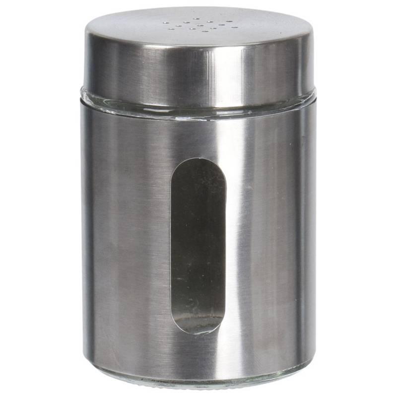 Pojemnik z sitkiem XXL na sól pieprz przyprawy przyprawnik