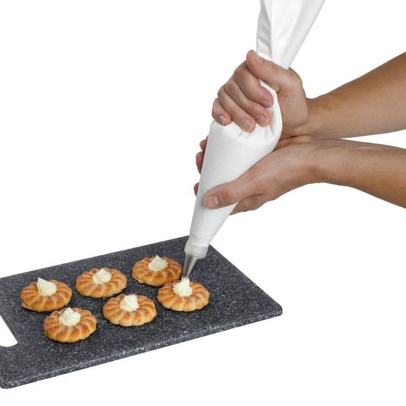 Rękaw cukierniczy BAWEŁNIANY worek dekorator 35 cm