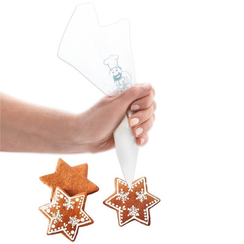 Rękaw cukierniczy / worek dekorator zestaw 39,5 cm 20 sztuk