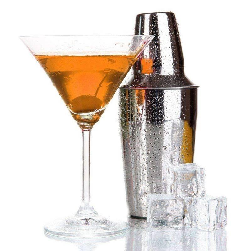 Shaker szejker do drinków stalowy 0,5L