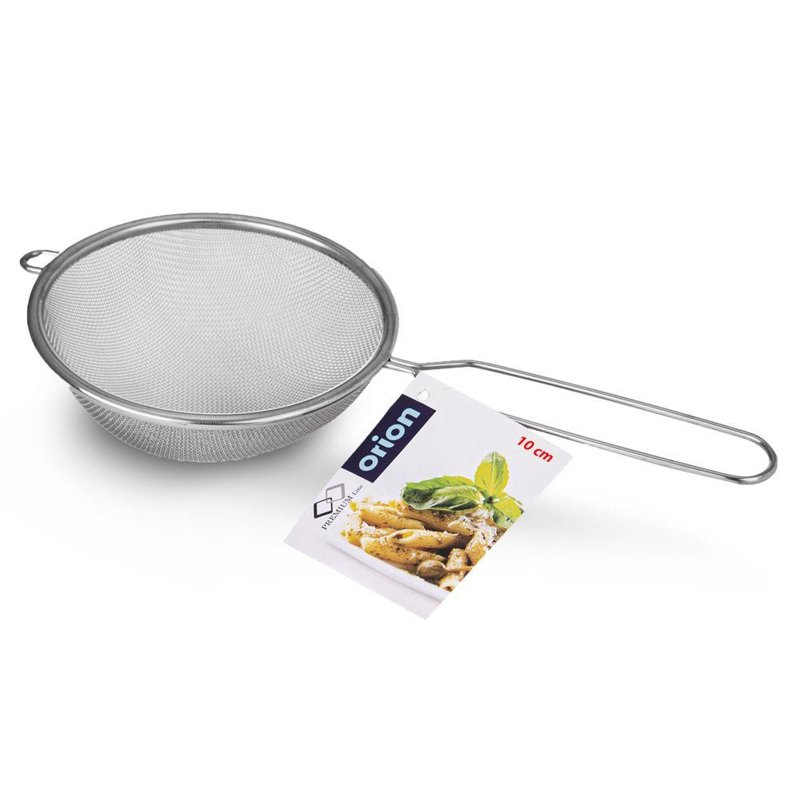Sitko kuchenne stalowe cedzak durszlak 10 cm