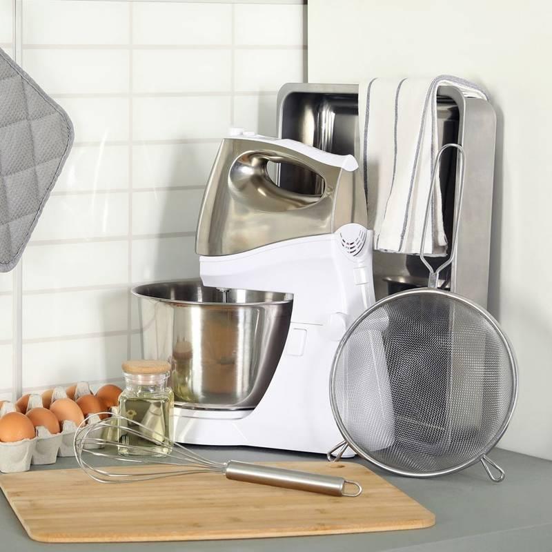 Sitko kuchenne stalowe cedzak durszlak 25 cm
