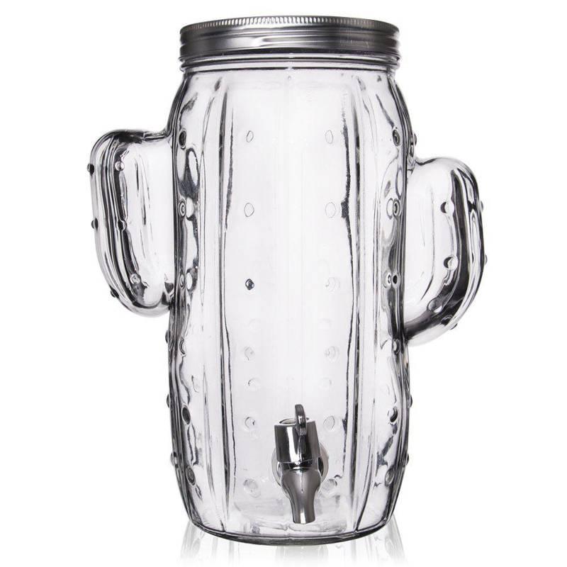 Słój słoik z kranikiem do napojów lemoniady 4l