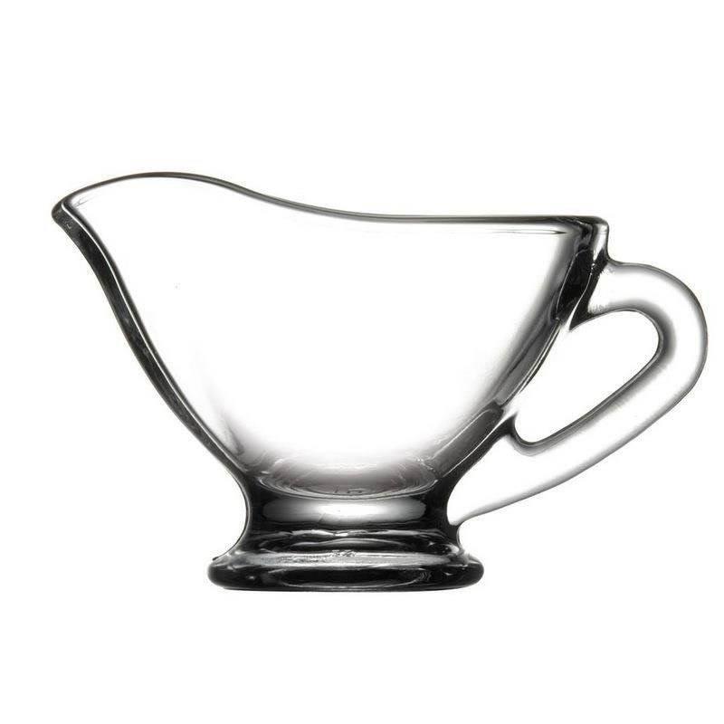 Sosjerka szklana mlecznik dzbanuszek do sosu 50 ml