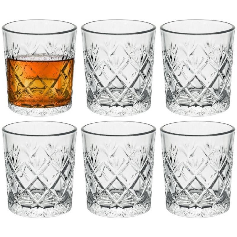 Szklanka do whisky drinków napojów 230ml 6 szt