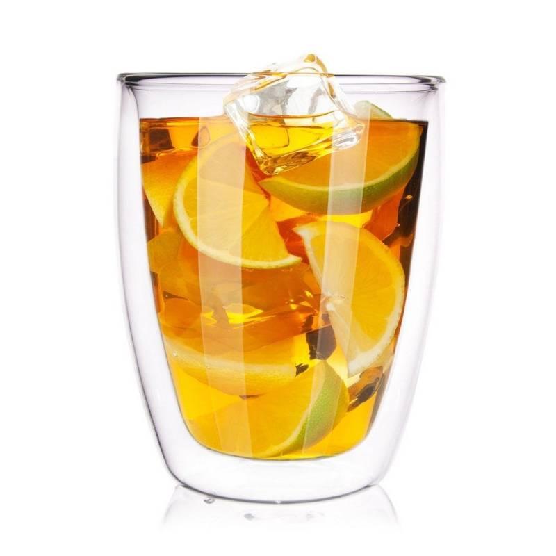 Szklanka termiczna z podwójną ścianką do KAWY latte herbaty 0,33L