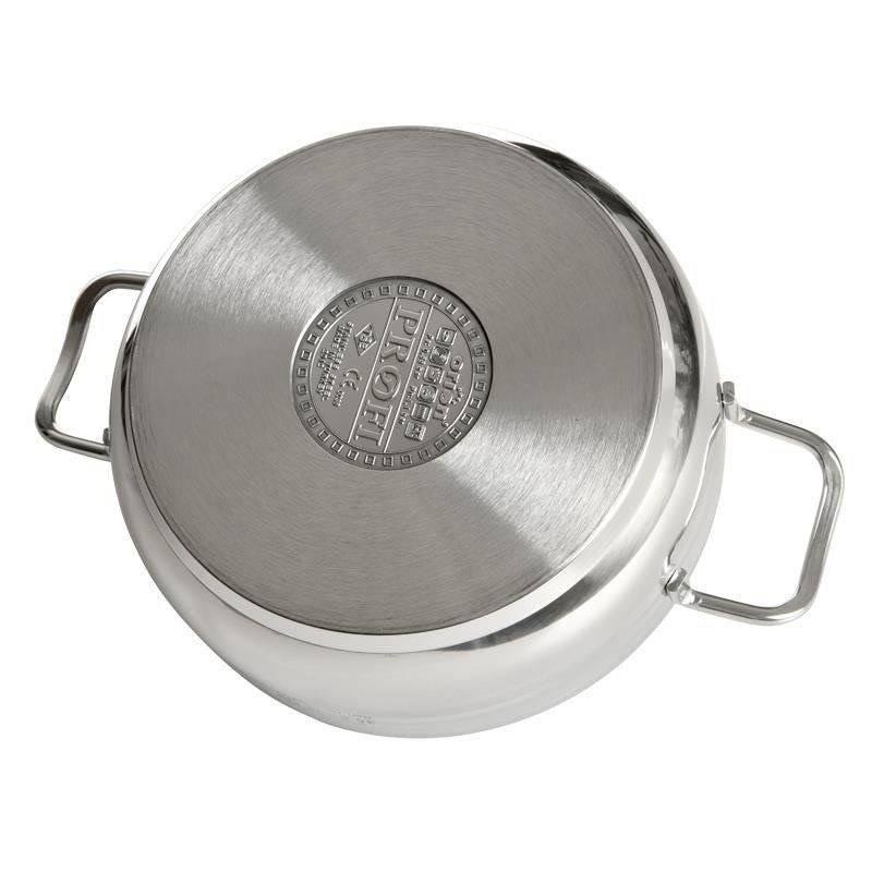 Szybkowar garnek stalowy indukcja PROFI 3,5L