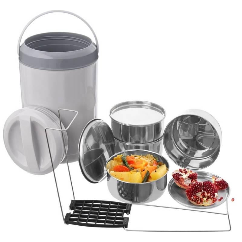 Termos obiadowy menażka na żywność 4-poziomowa