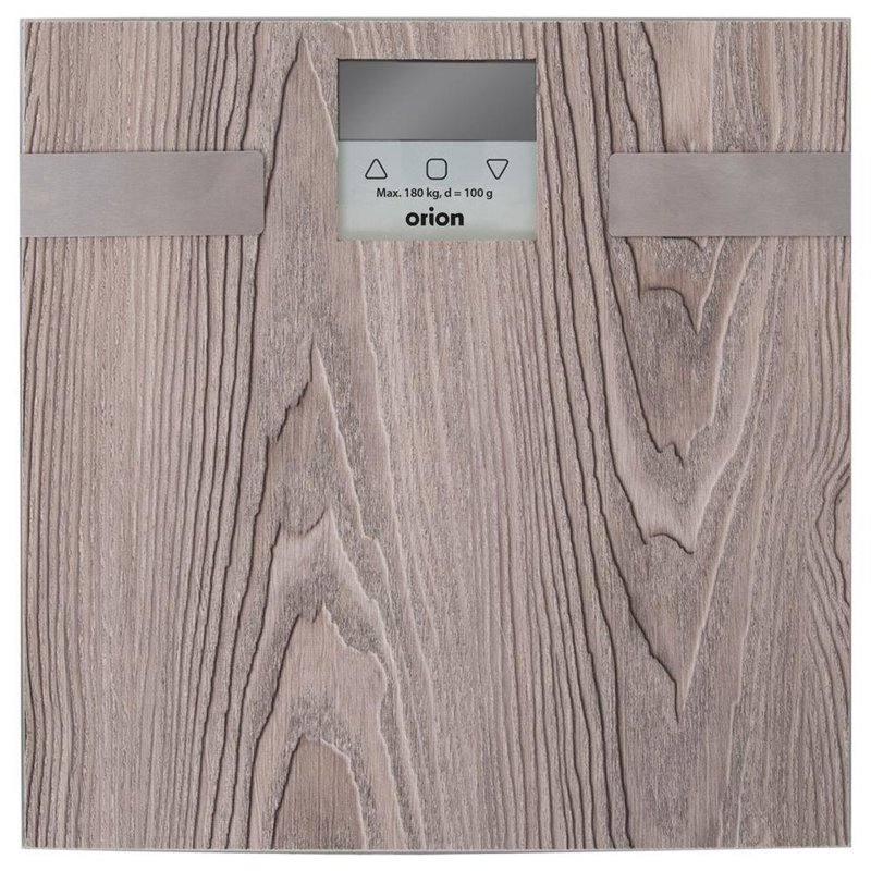 Waga łazienkowa, szklana, elektroniczna, 180kg, + BMI